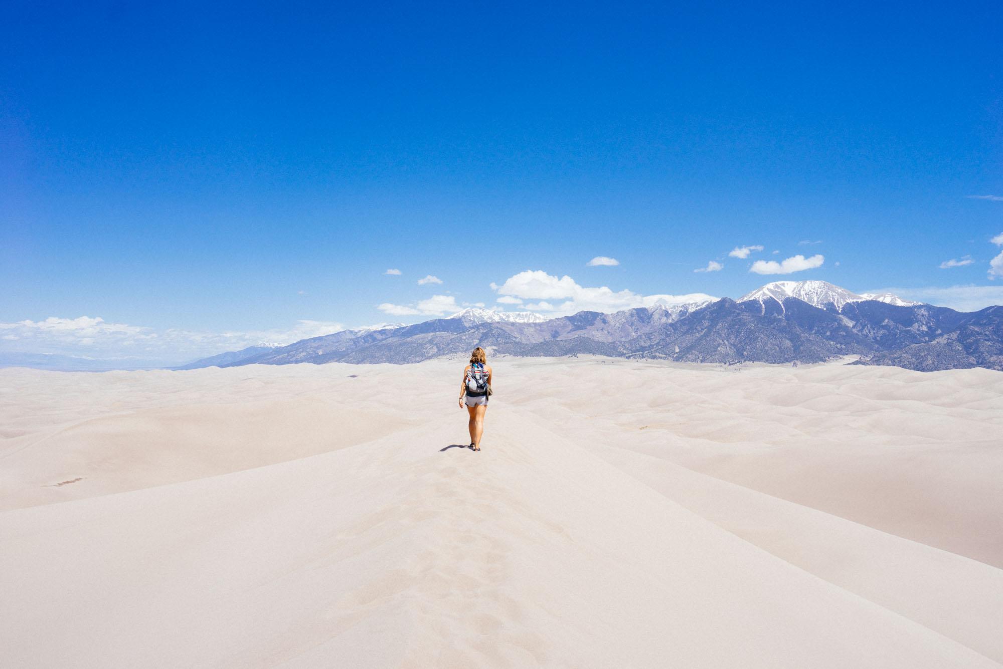 MAK headed into the dunes
