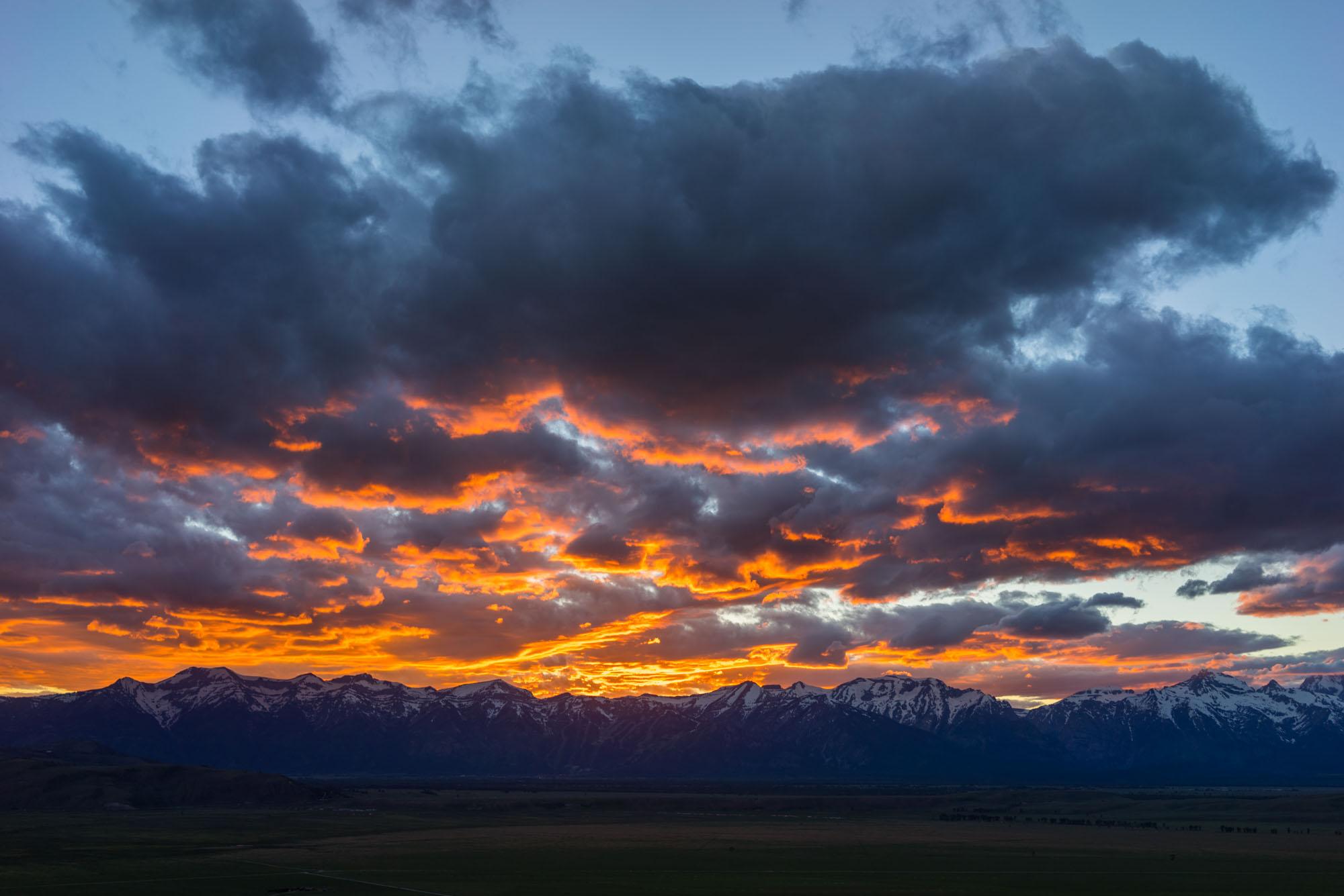 A rediculous Jackson sunset