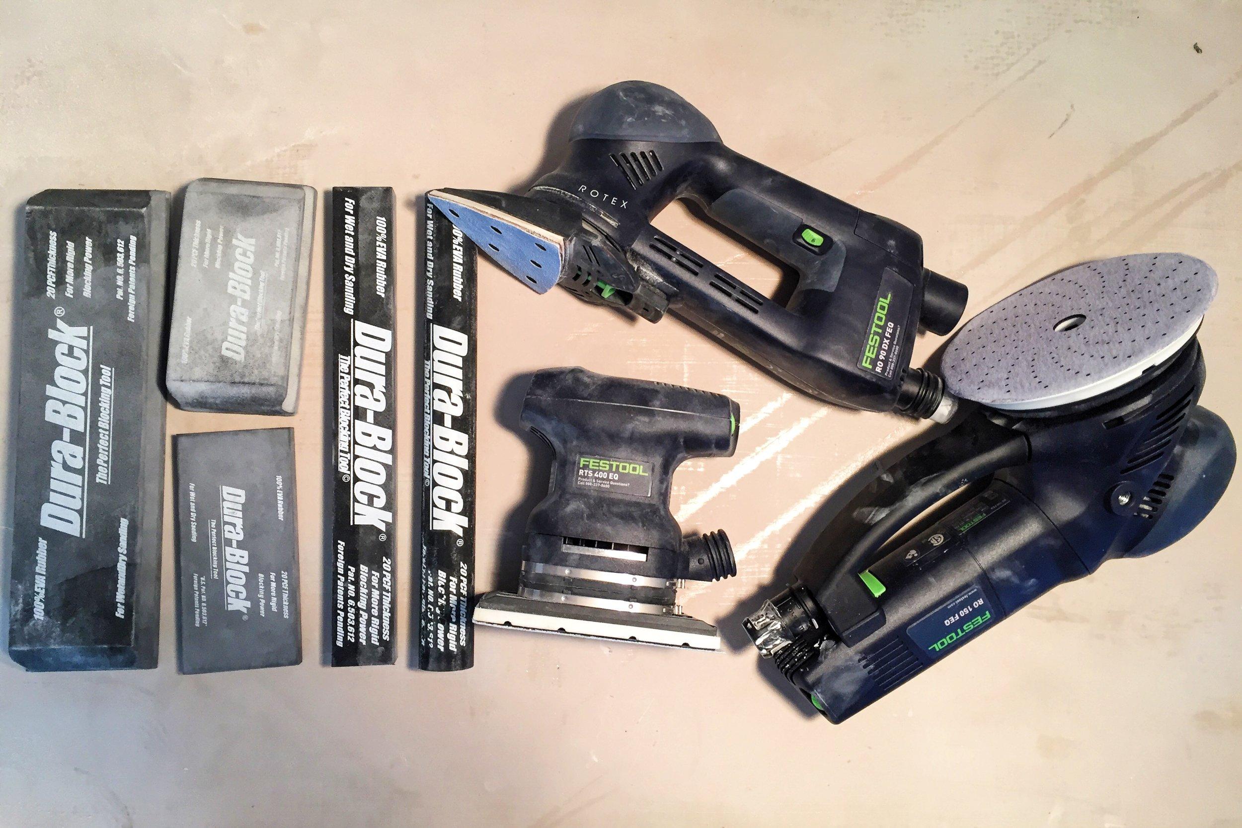 Matt's tools of choice