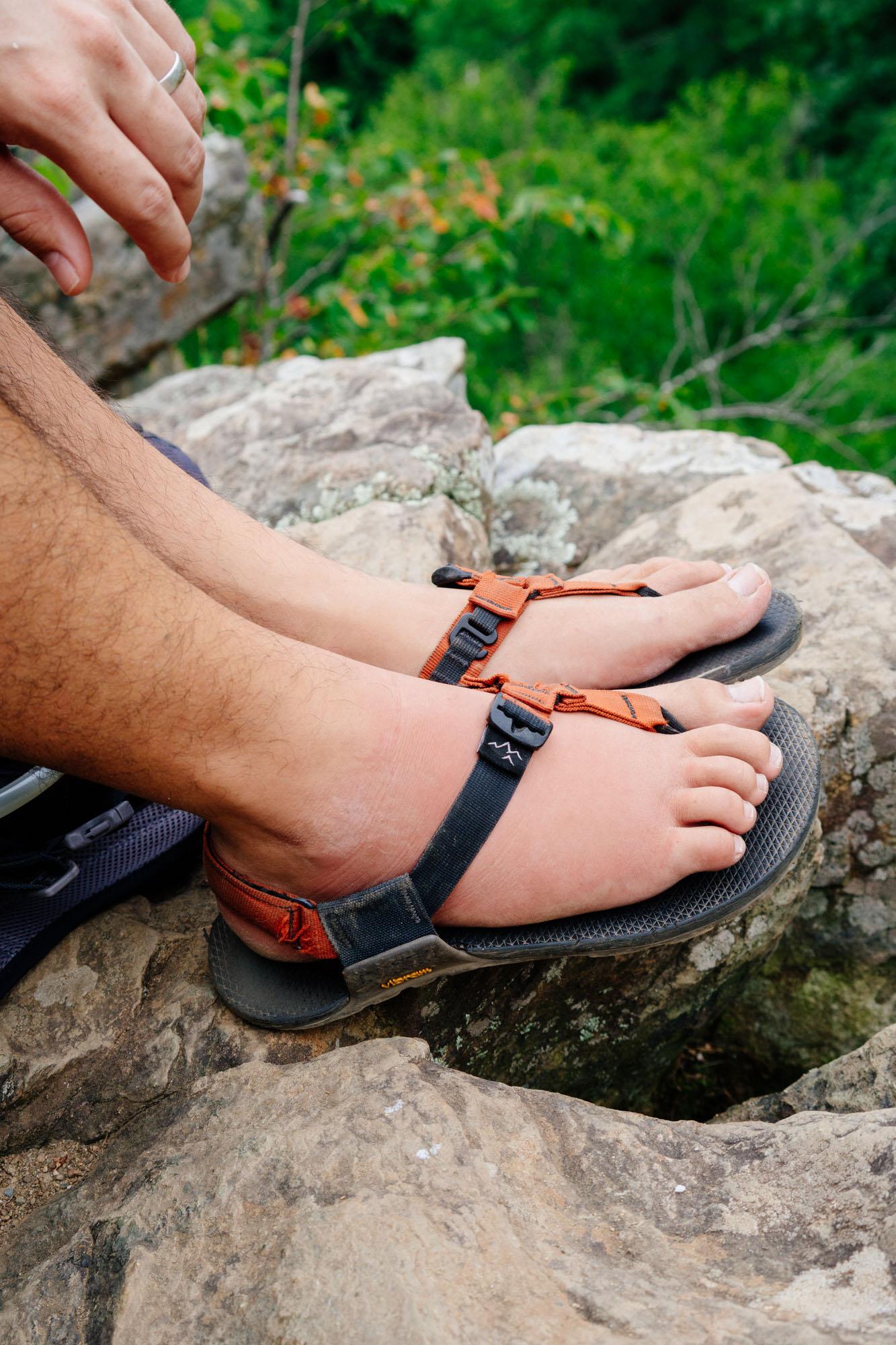 Owen's juicy foot view 2