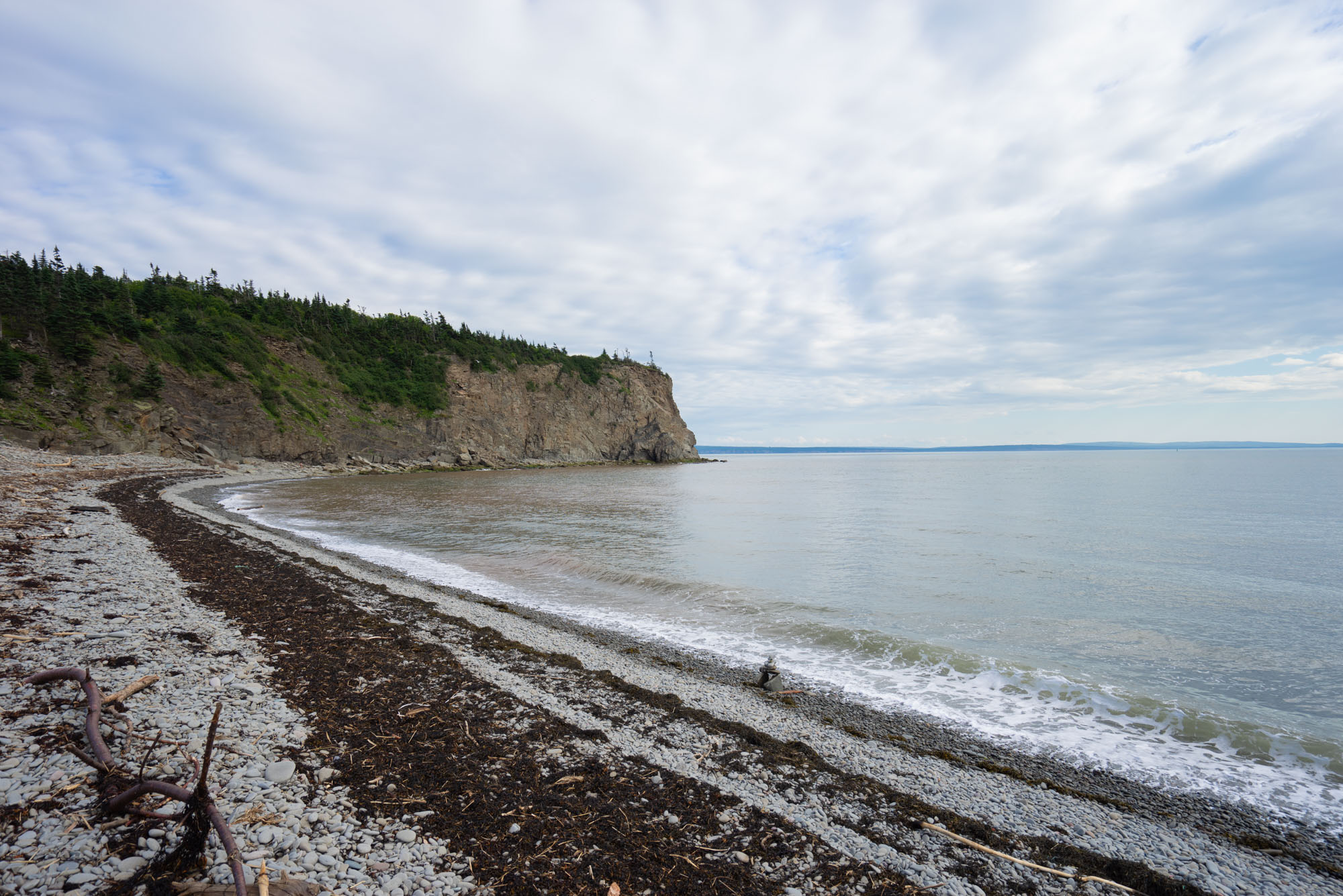 View from a small hike in Fundy Bay NP