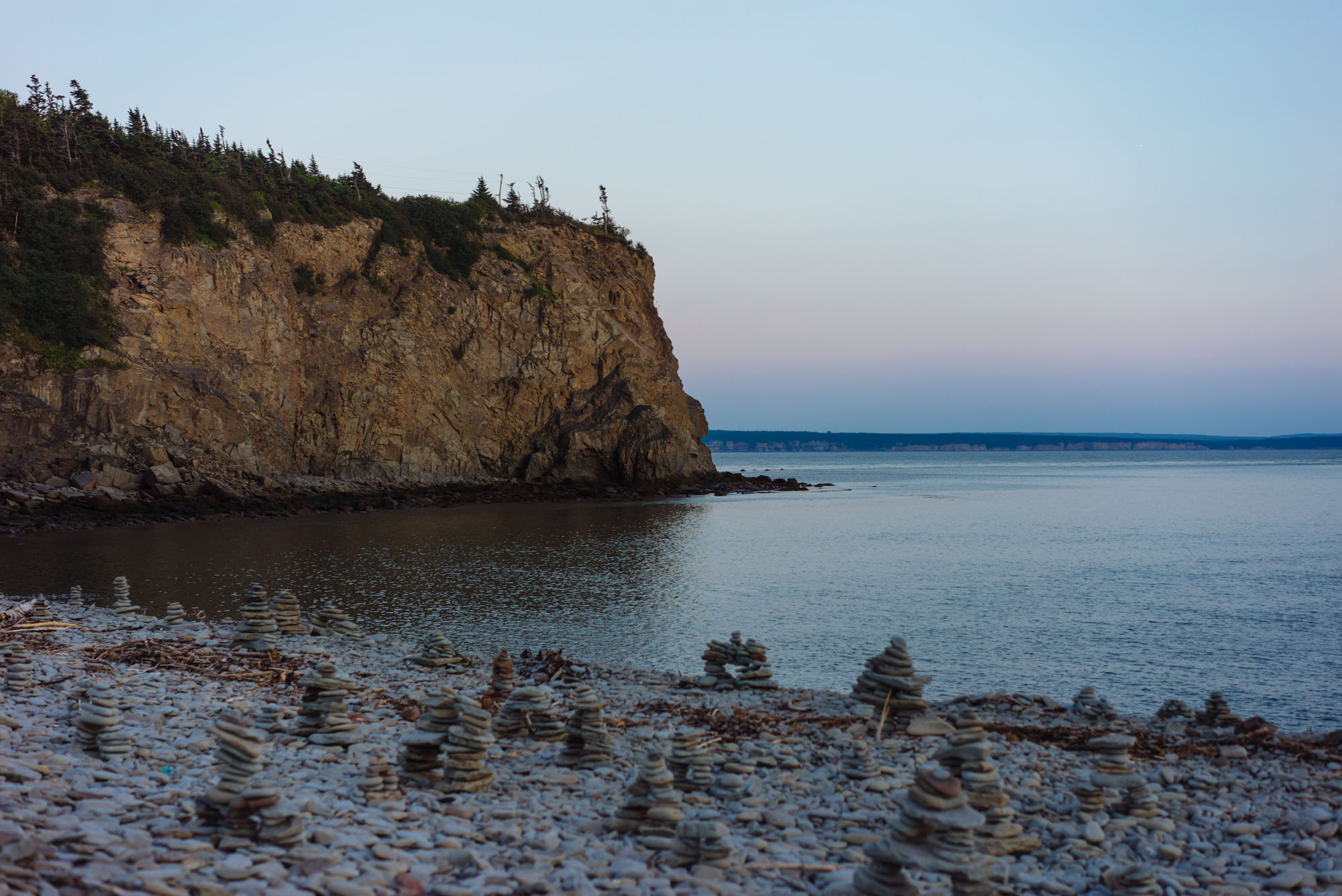 Camp on The Bay of Fundy
