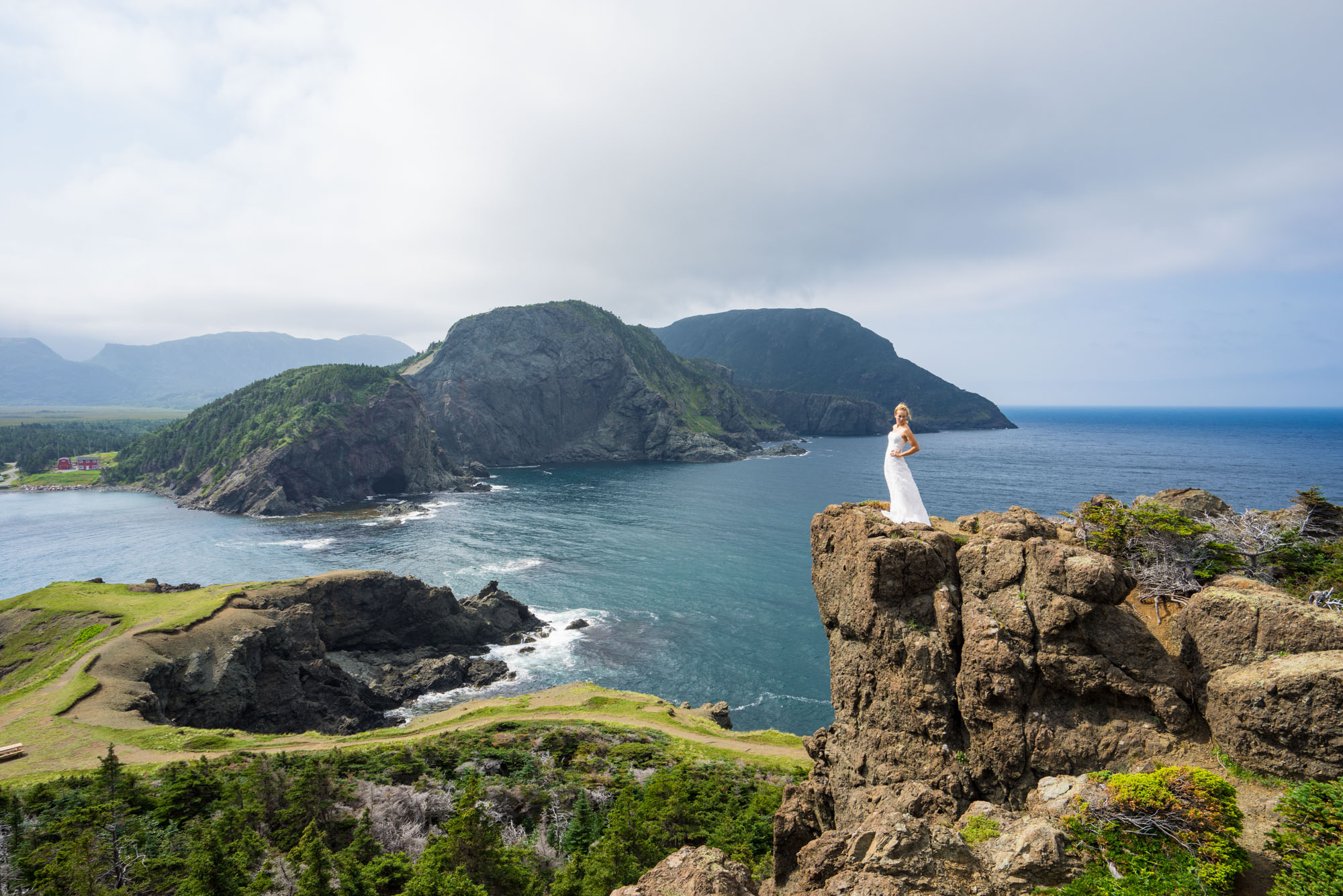 The Law Bridal in Bottle Cove