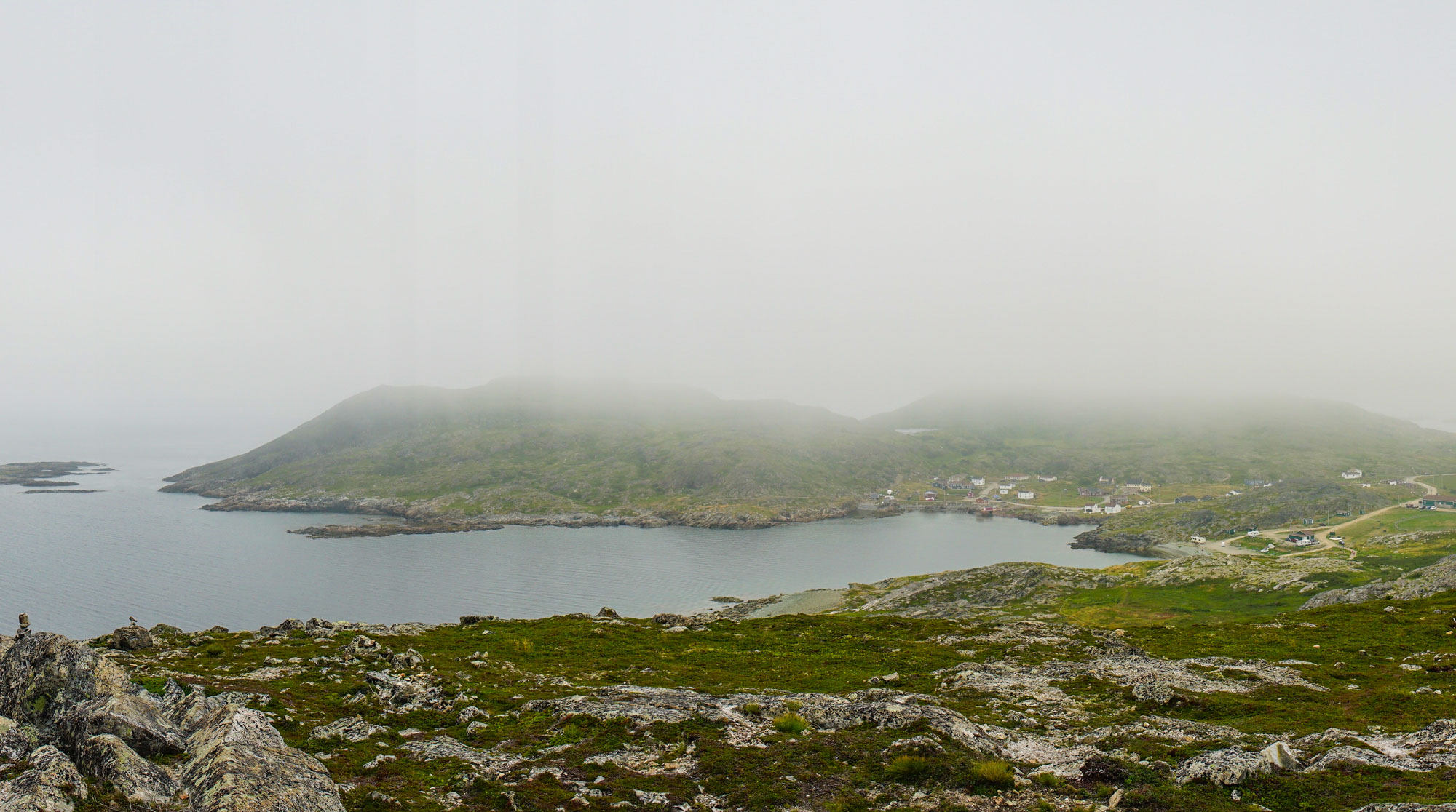 Bay off the to side of Brimstone head