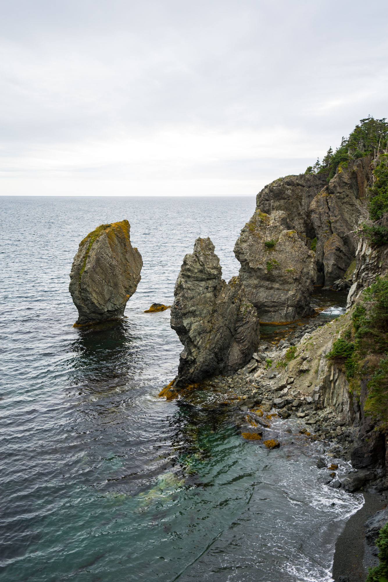 Sea stacks on the Skerwink Trail