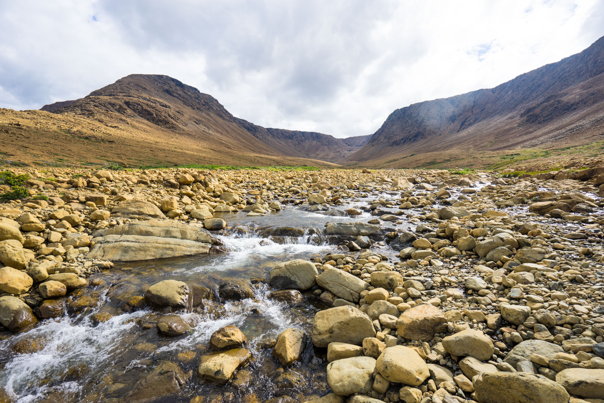 Stream coming out of the Tablelands