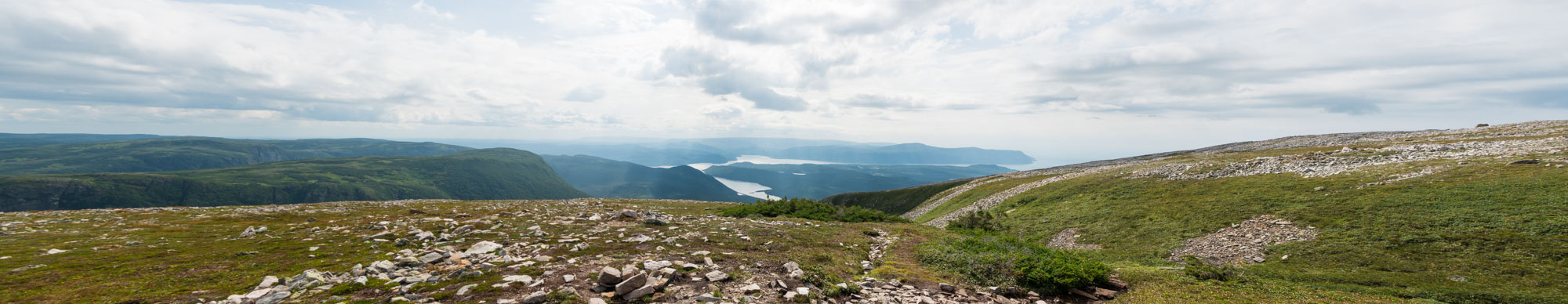 View from the summit of Gros Morne