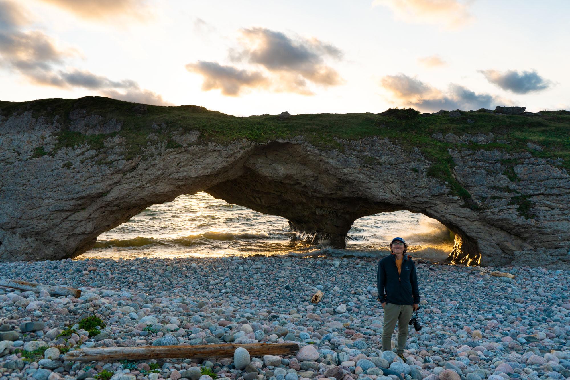 Owen at Arches