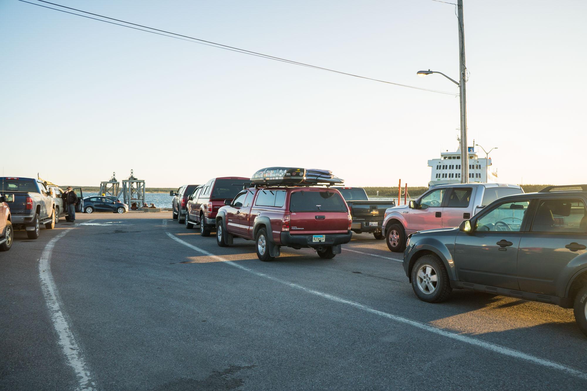 Lando waiting for the Ferry to Labrador