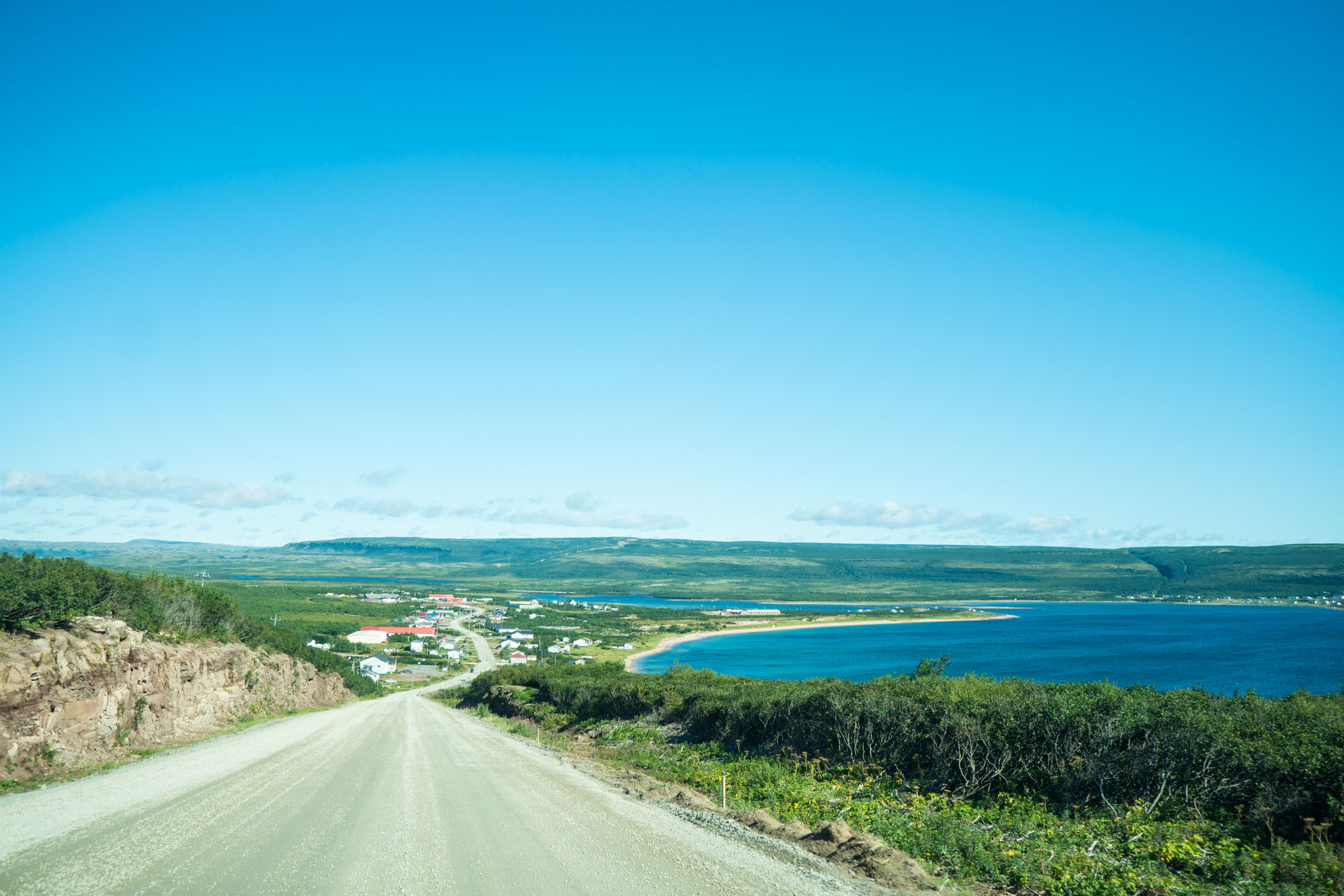 First view of Labrador