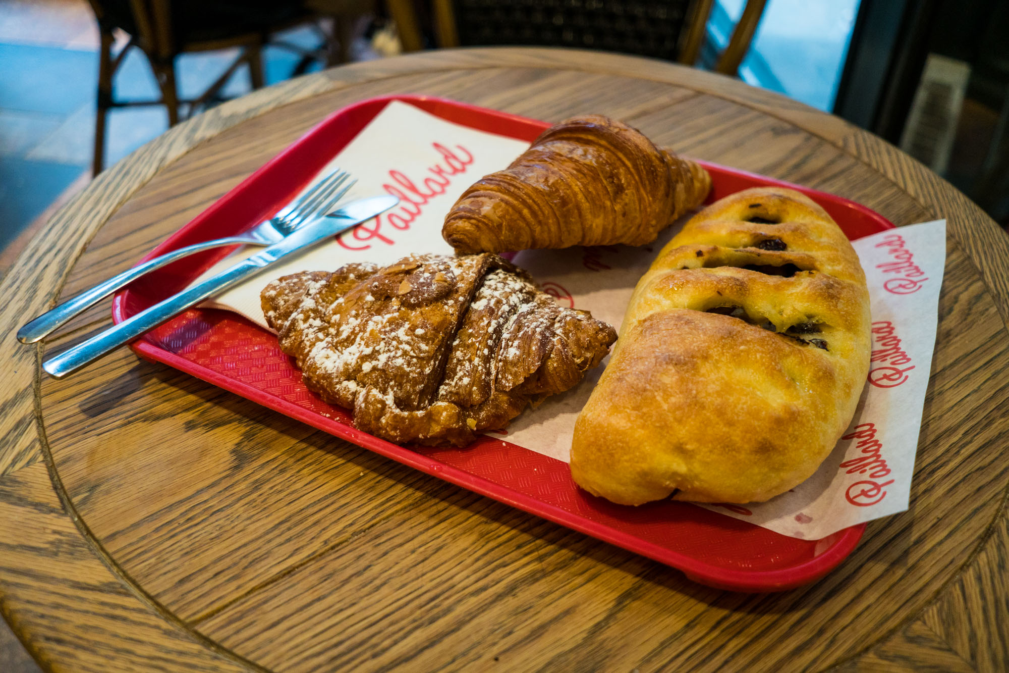 Had to enjoy some croissants while in Quebec city. These are from Paillard