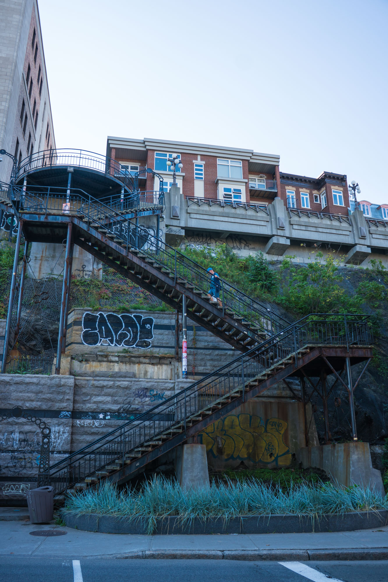 Stairs in Quebec City