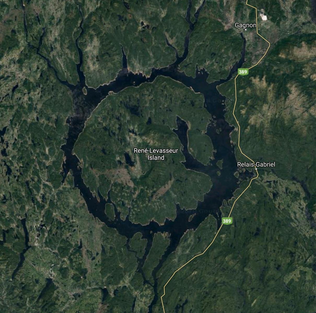 Lac Manicouagan, Quebec