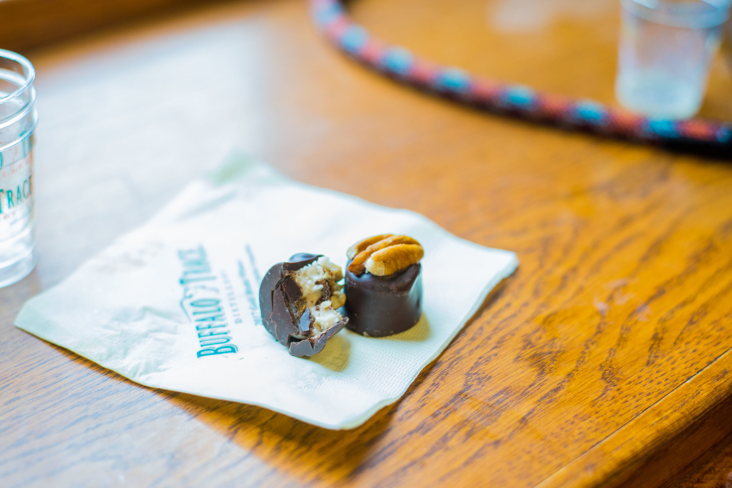 If you've never had a Bourbon Chocolate, we highly recommend them