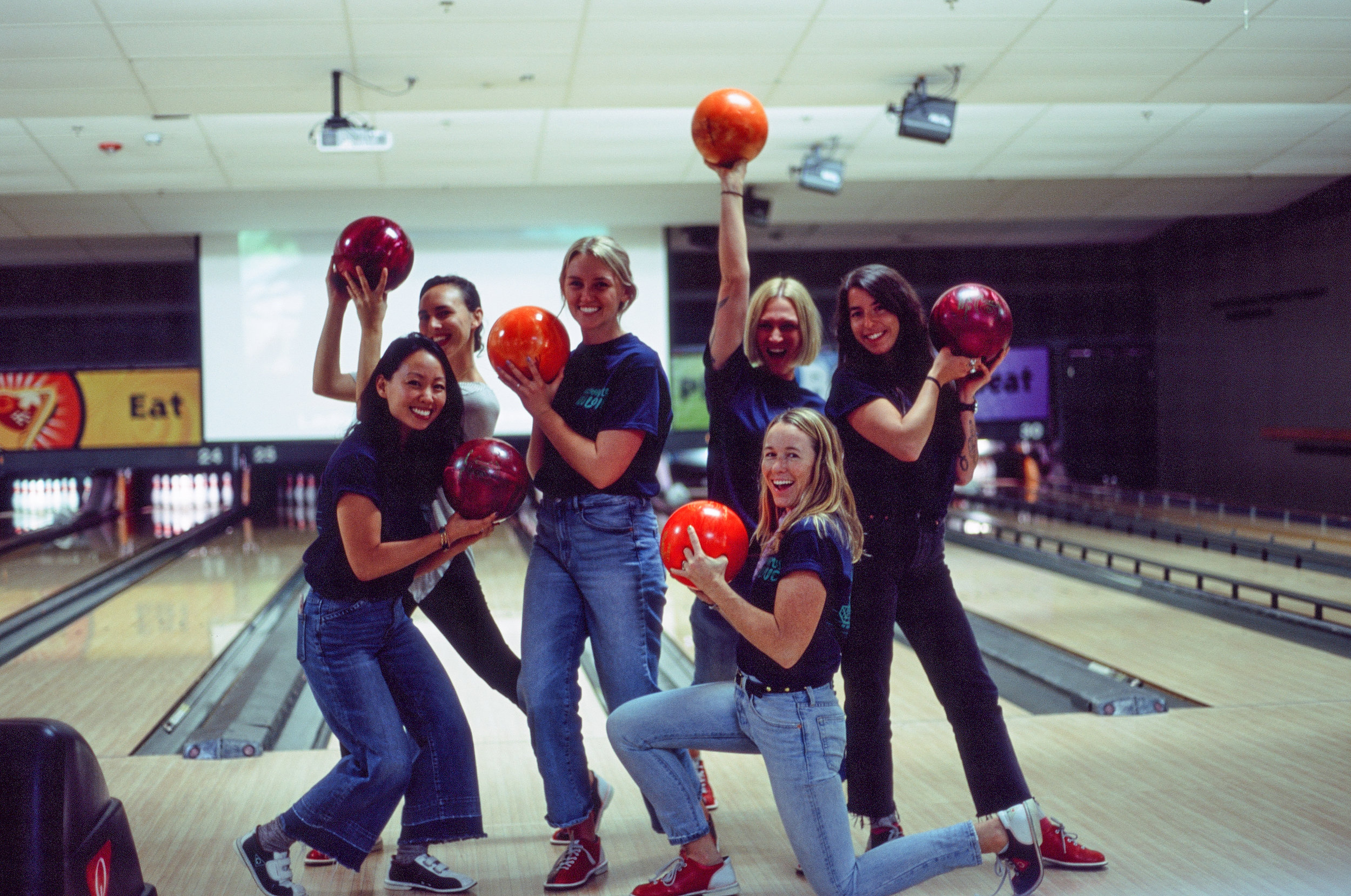 Team girl squad - Girls night out for the bachelorette party