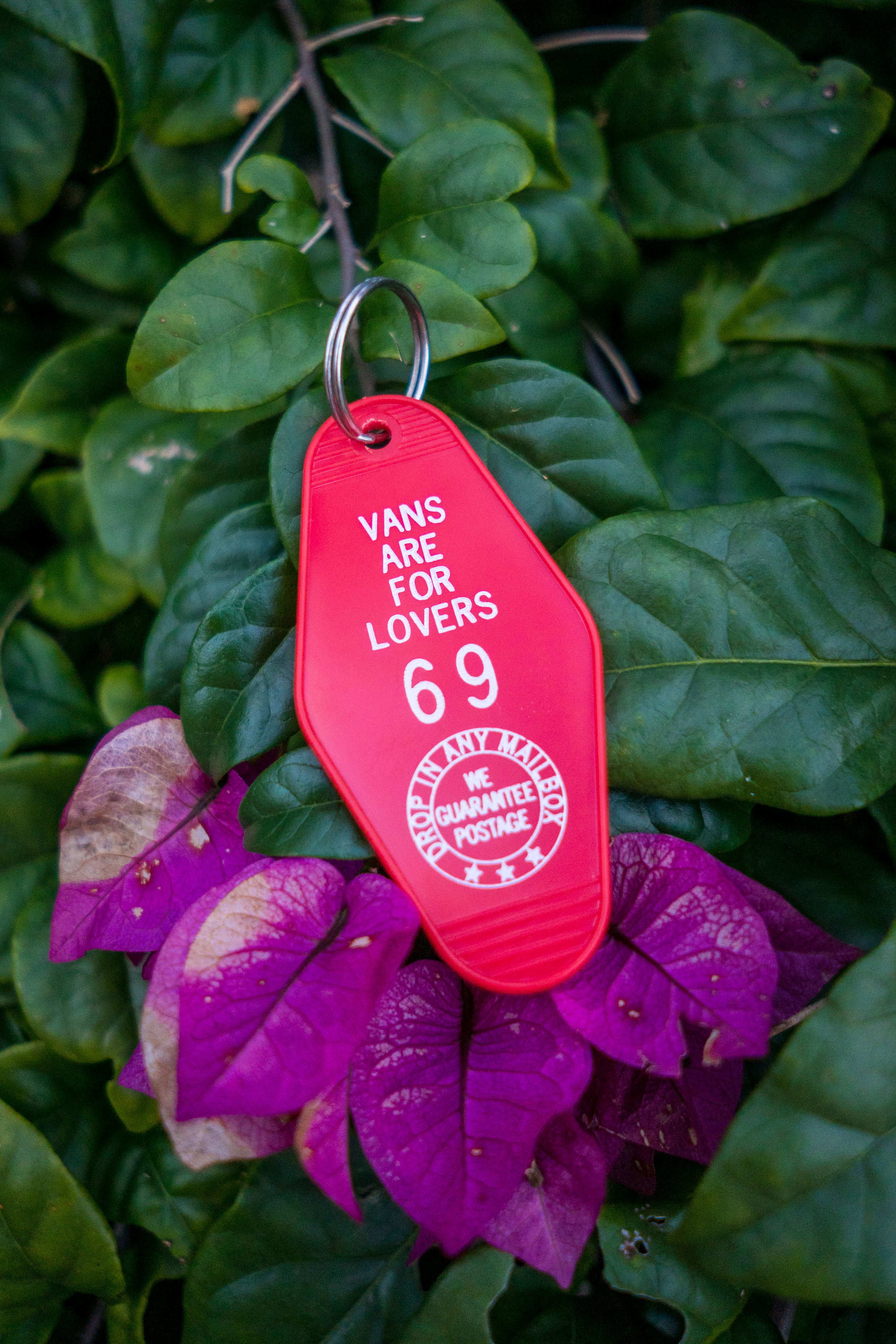 Vans are for Lovers Key Tag (they're all #69) ;)