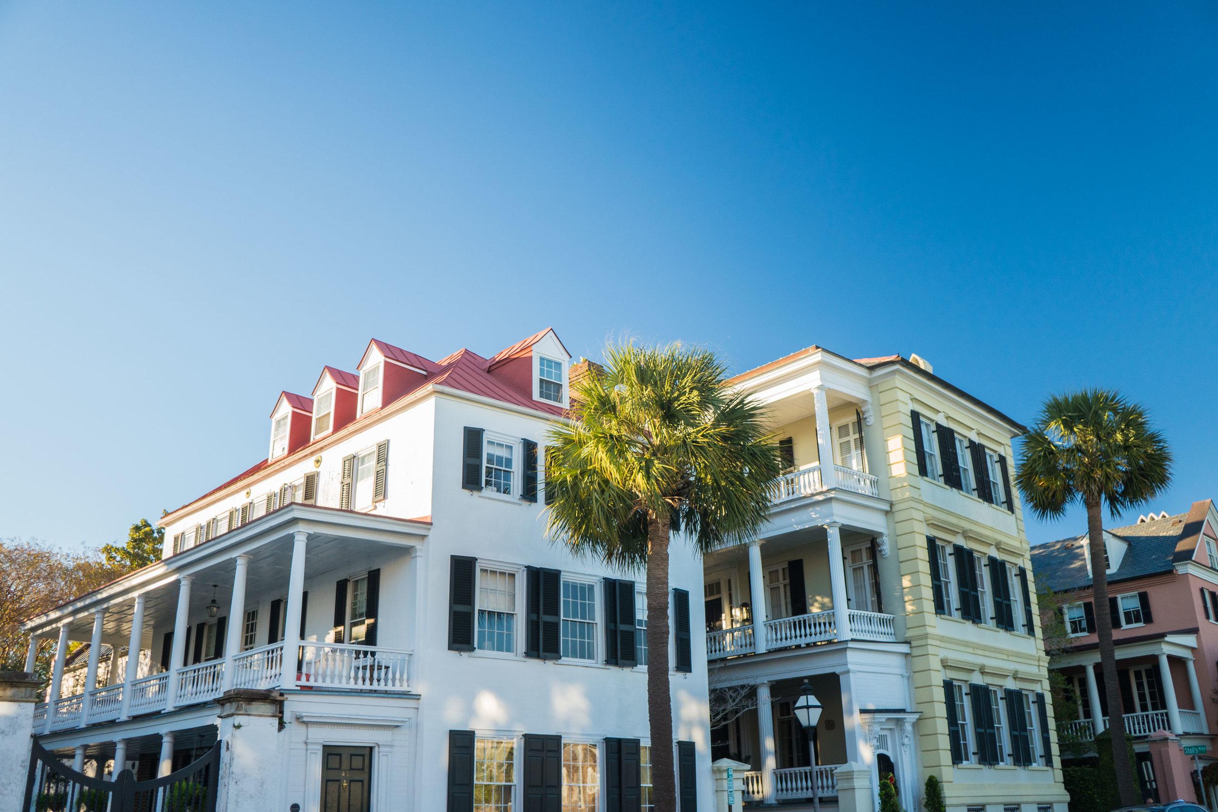 Incredible homes in Charleston, South Carolina