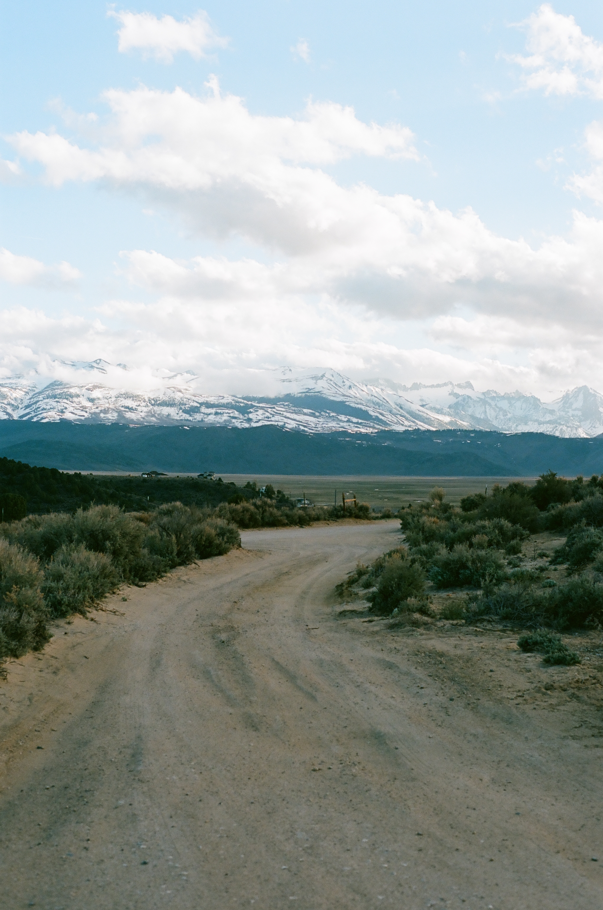 road to camp, 35mm