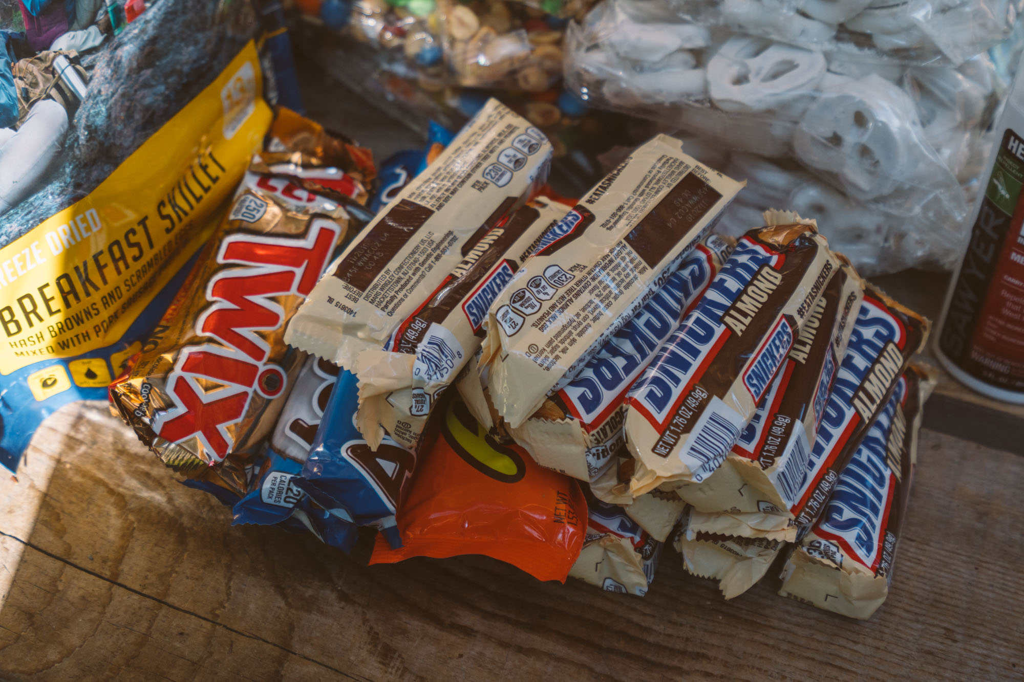 Our candy stash