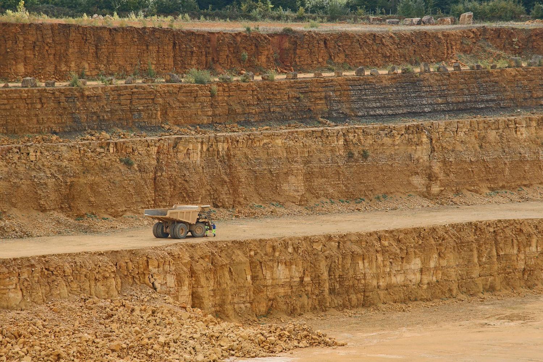 A limestone quarry (Image courtesy of Jessica Johnson -CC0)