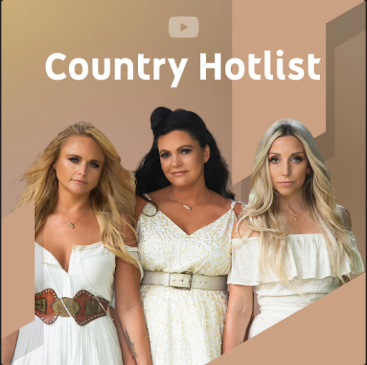 YouTube Music's Country Hotlist