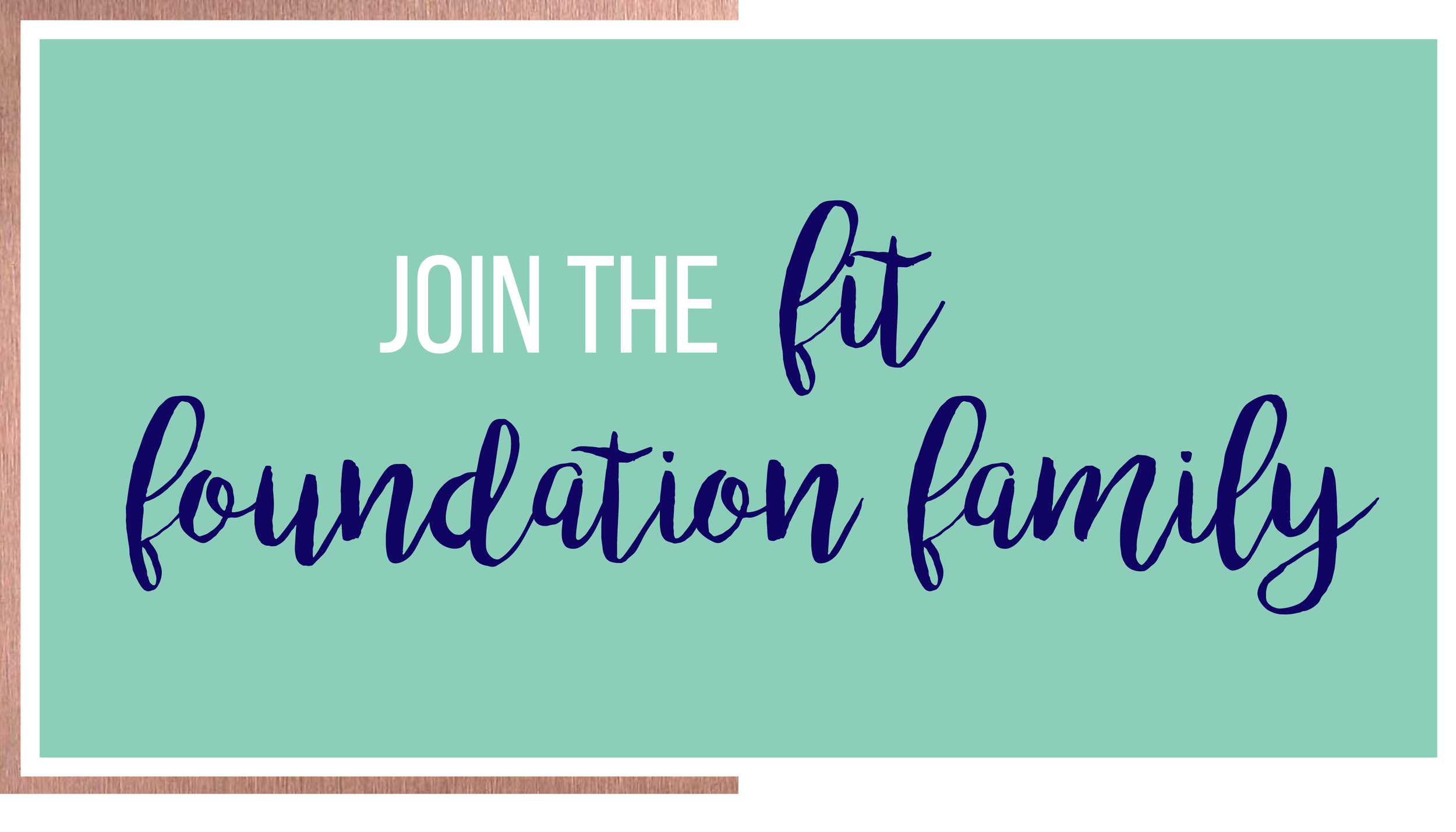 Kacia Fitzgerald :: Join the Fit Foundation Family