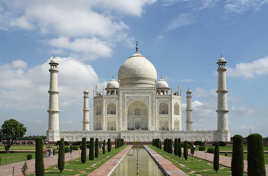 Overnight visit to the Taj Mahal, one of the  Wonders of the World .