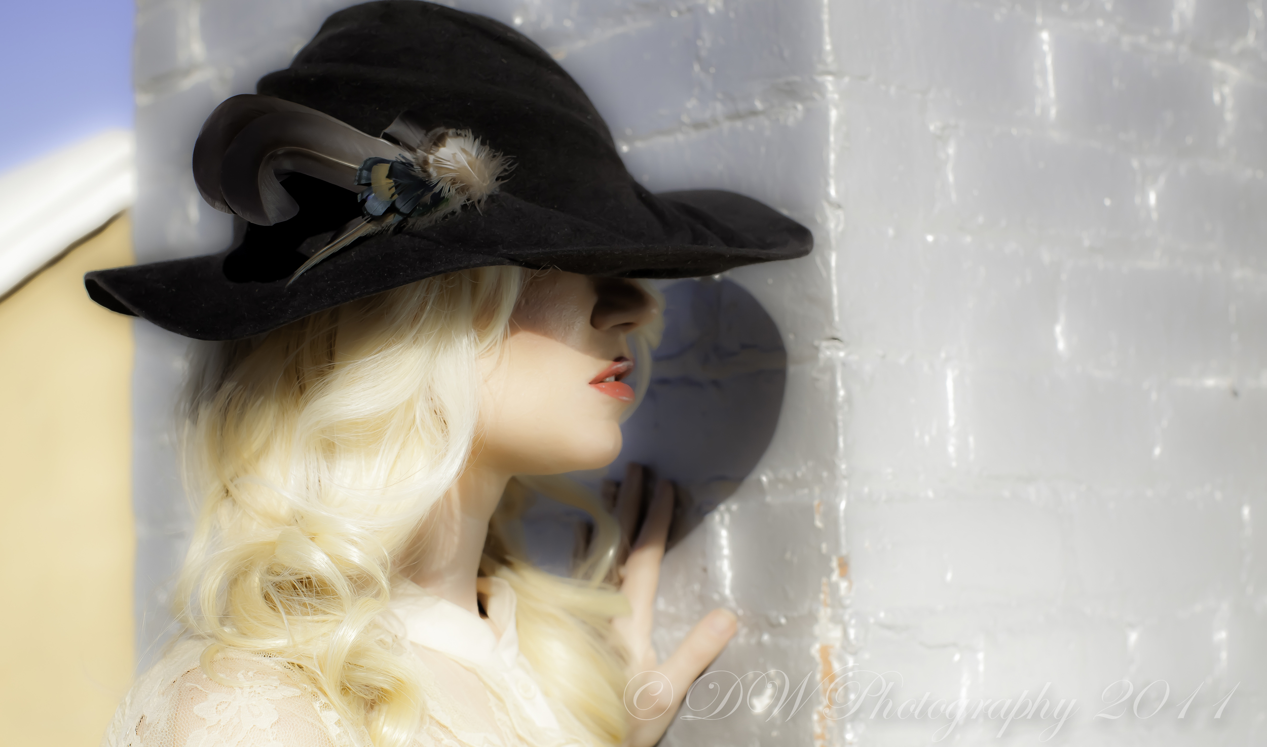 """""""Agnes"""" Hand Sculpted Felt Picture Hat Fall 2012-Nothing Images"""