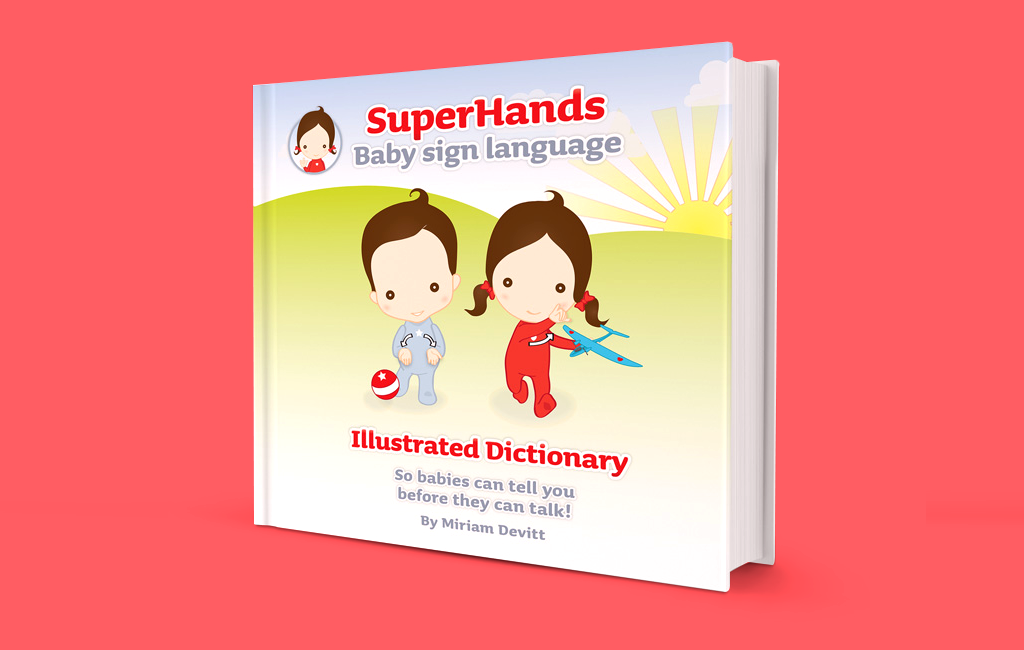 Ireland's first Illustrated Dictionary of Baby Sign Language