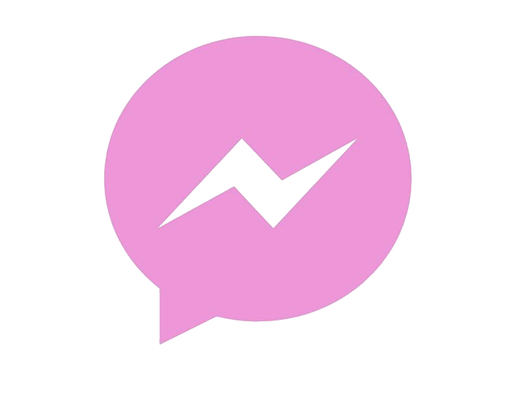 Pink Messenger Icon PNG.png