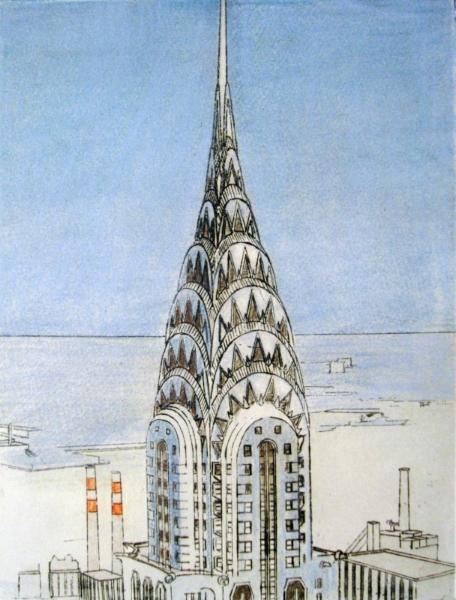Haas, Chrysler Building, Etching, i9x12, p15x22.JPG