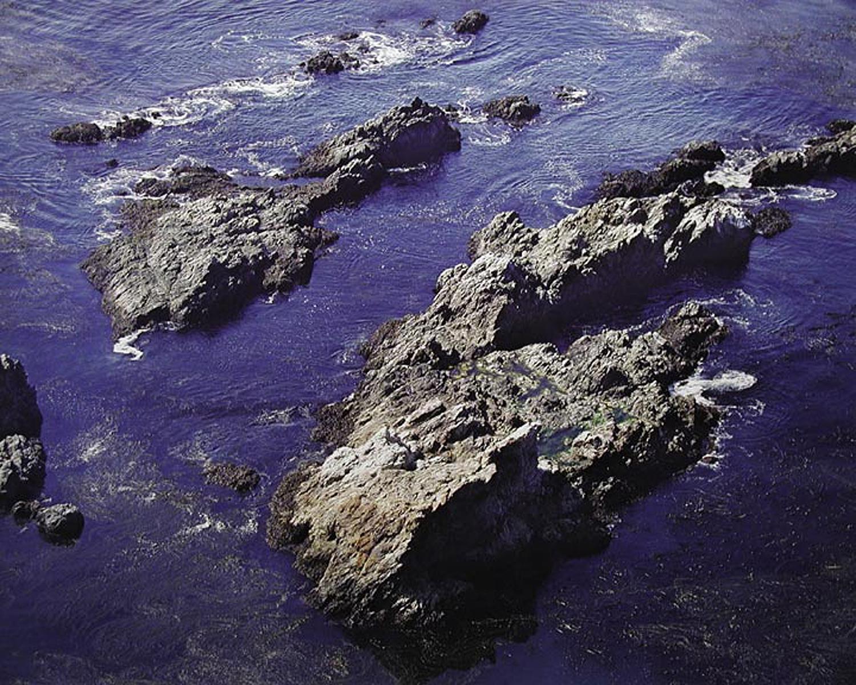 "Christopher Burkett ""Coastal Rocks,"" California    Cibachrome Photograph    Available in 20"" x 24"", 30"" x 40"", and 40"" x 50"""