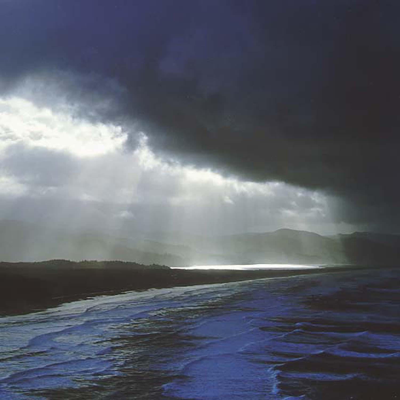 "Christopher Burkett   ""Coastal Storm,"" Oregon    Cibachrome Photograph    Available in 20"" x 20"", 30"" x 30"", and 40"" x 40"""