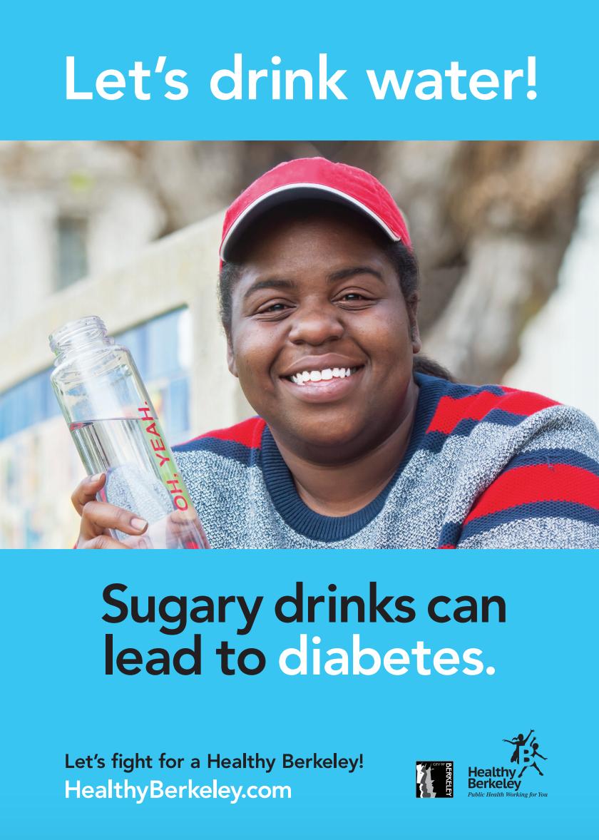 Let's Drink Water! Diabetes Blue Version   Press file