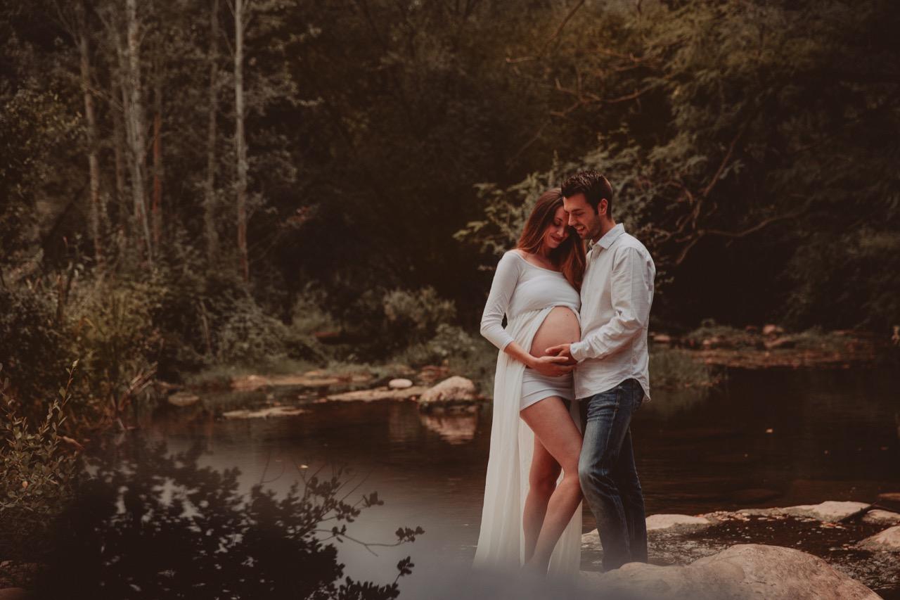 Sesiones de embarazo - Dulces esperas hasta que vuestro bebé nazca.