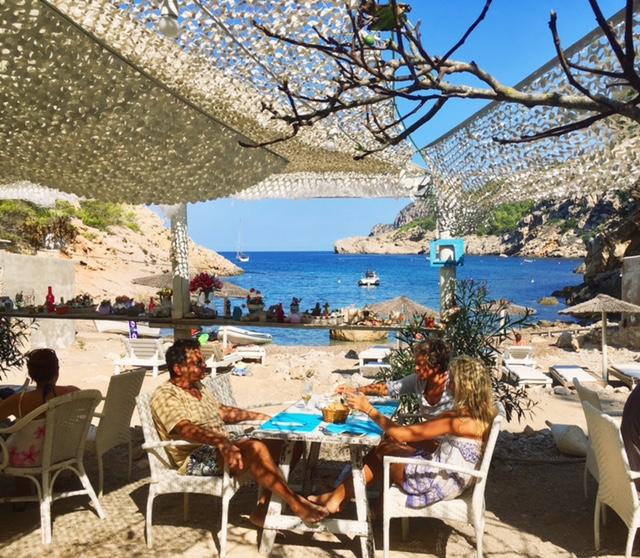 Utopia Ibiza secret beach restaurant