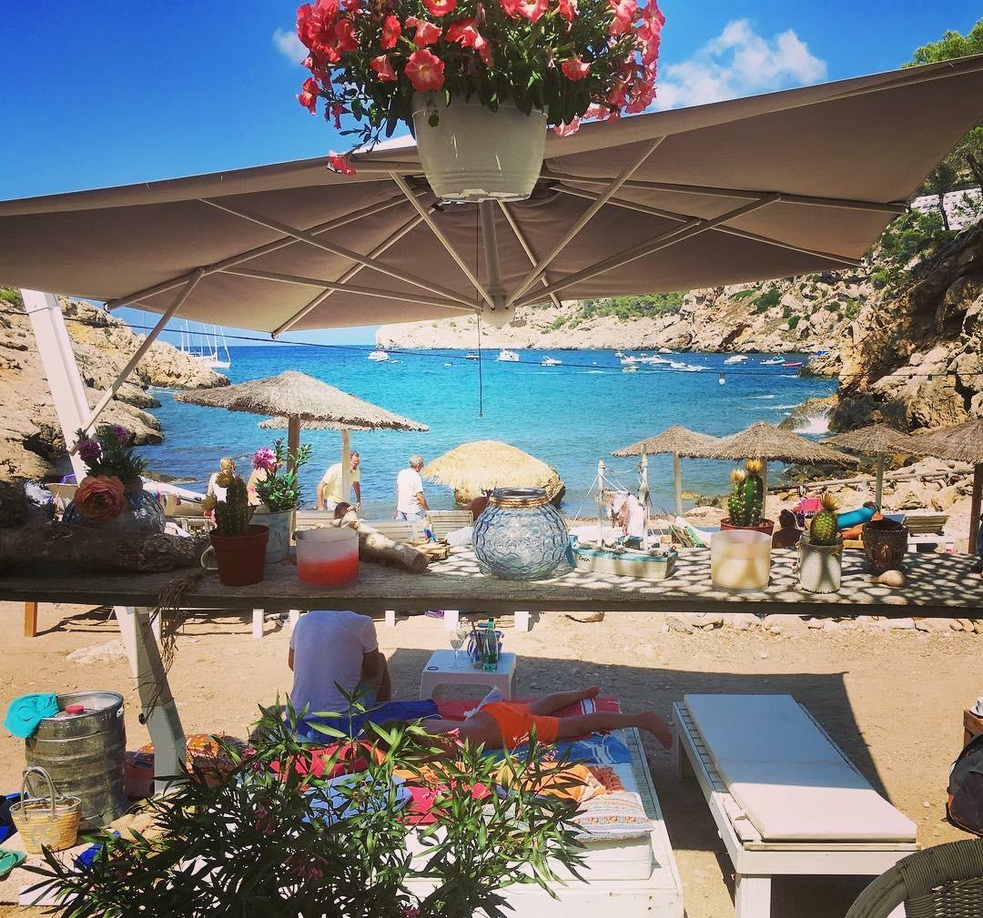 Utopia Ibiza beach restaurant secret beach