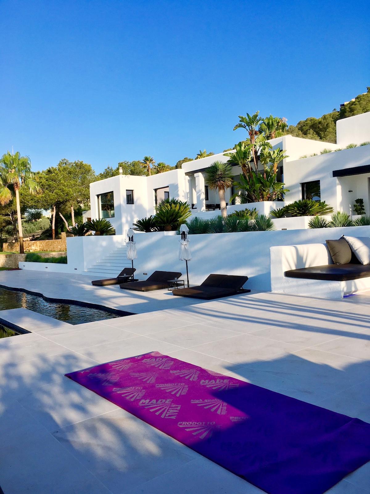 Ibiza private yoga retreat