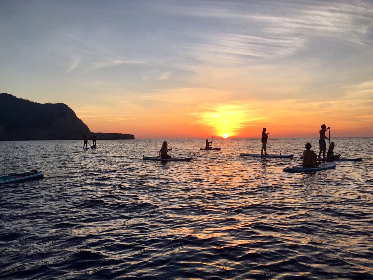 Stand Up Paddle in Ibiza