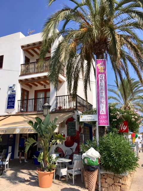 Santa Gertrudis Ibiza ice cream parlour
