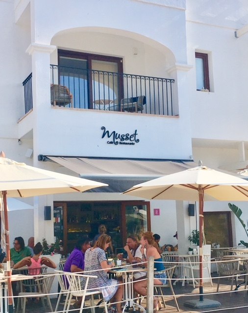 Musset Santa Gertrudis Ibiza restaurant