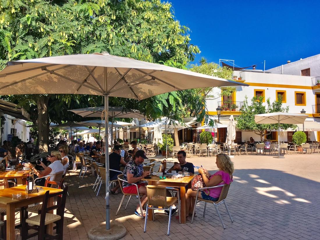 Santa Gertrudis Ibiza village