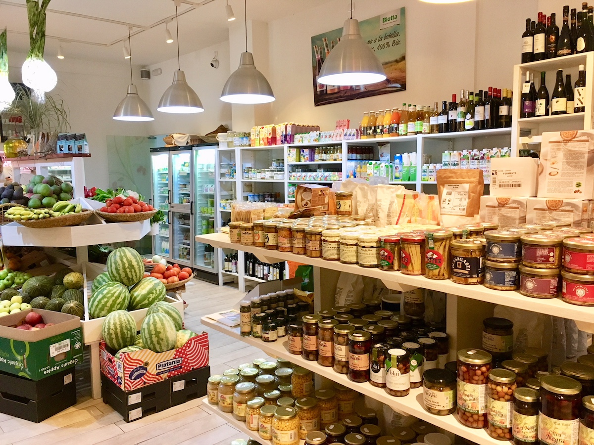 Ibiza health food shops