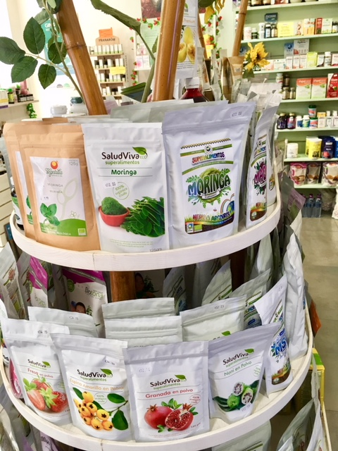 Natural Point Ibiza organic health food shop