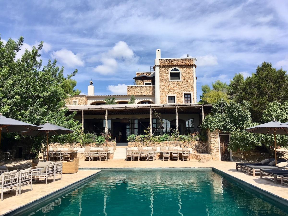 La Granja Ibiza's coolest boutique hotel