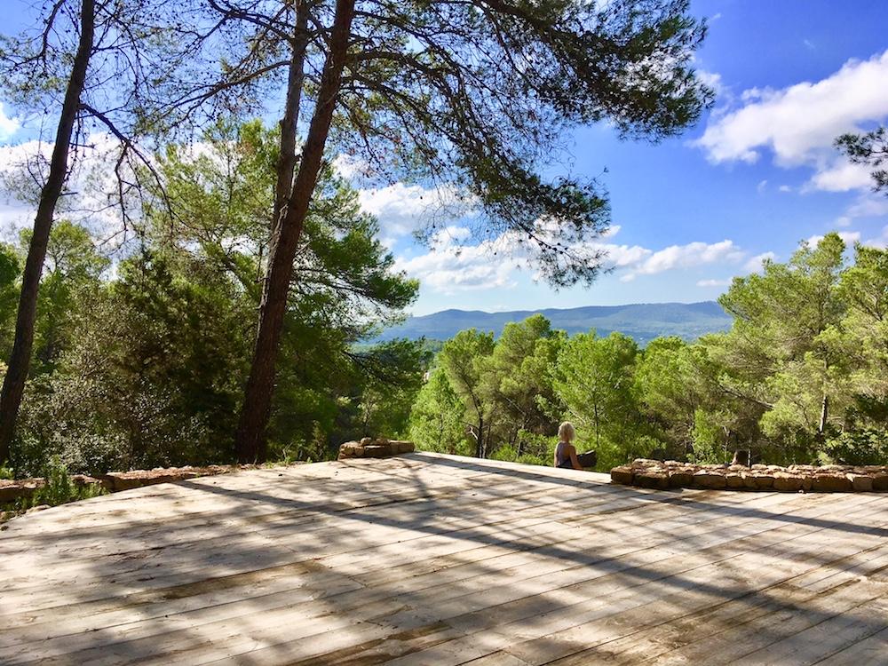 La Granja Ibiza boutique hotel private yoga