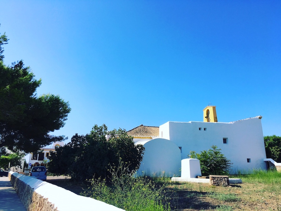 Santa Gertrudis Ibiza's most charming village