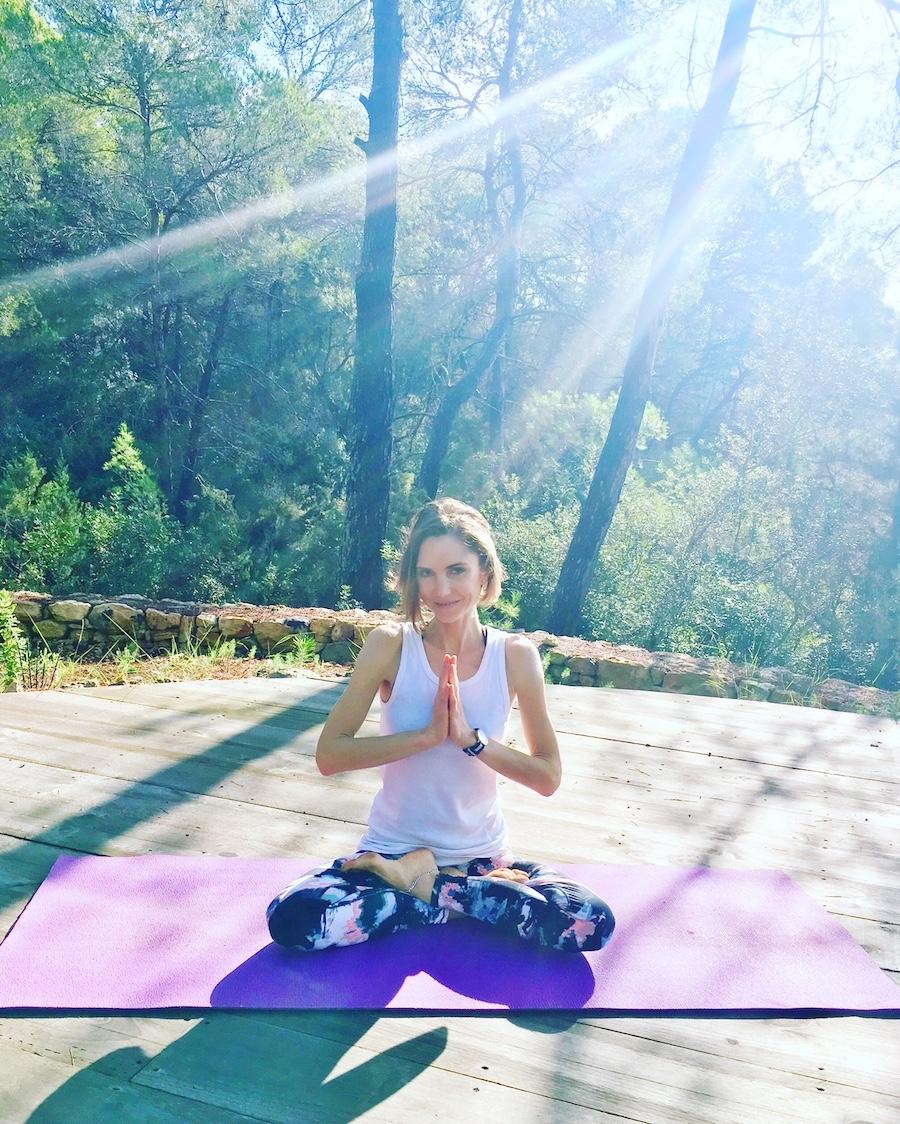 Ibiza private yoga teacher