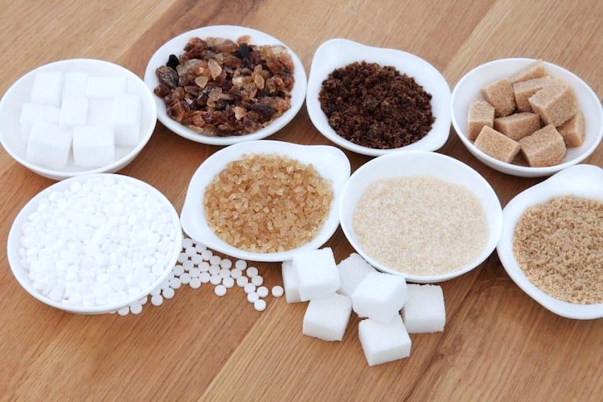 All the names of sugar