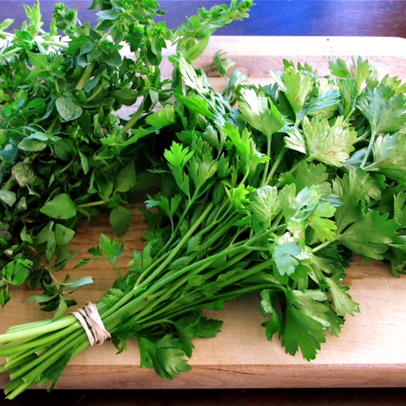 Detox herbs and spices